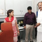 The Union Minister for Urban Development, Housing and Urban Poverty Alleviation and Parliamentary Affairs, Shri M. Venkaiah Naidu inspecting Nirman Bhawan during cleanliness Drive in New Delhi on May 16, 2016.