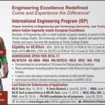 Thapar University: Admission open for International Engineering Program