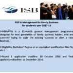 ISB Family Business Programme