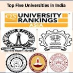 Top Five Indian Universities in India at QS Asia