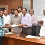 , CEO, Aspire Systems handing over the admissio...