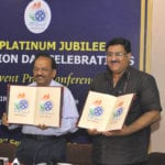 The Union Minister for Science & Technology and Earth Sciences, Dr. Harsh Vardhan at a press conference in connection with the CSIR Platinum Jubilee Celebrations, in New Delhi on September 23, 2016.