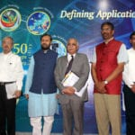 "The Union Minister for Human Resource Development, Shri Prakash Javadekar at the inauguration of the Super Computer ""PARAM-ISHAN"", at the Indian Institute of Technology, Guwahati on September 19, 2016. 	The Secretary, Department of Higher Education, Shri V.S. Oberoi and other dignitaries are also seen."