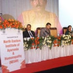 AYUSH Minister formally inaugurates the North Eastern Institute of Ayurveda & Homoeopathy at Shillong