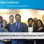 TCS wins another laurels as it is certified as top 3 employer in Asia Pacific