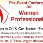 Women employees represent 34% at the entry level, 13% at the board level: Women leaders @PETROTECH-2016