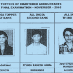Meet the toppers of Chartered Accountants Final Examinations Nov 2016