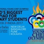 Third International Young Chef Olympiad 2017 will kickstart from 28 Jan 2017 in India