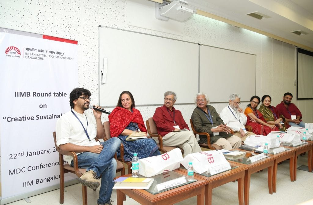 "The arts should not be static; they should evolve and adapt. Opportunities, be it from technology or from the corporate world, need to be grabbed and managed well,"" said acclaimed director, screenwriter and producer Adoor Gopalakrishnan at a panel discussion on 'Creative Approaches to Sustainability' at IIM Bangalore on 22 January  2017."