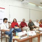 """The arts should not be static; they should evolve and adapt. Opportunities, be it from technology or from the corporate world, need to be grabbed and managed well,"""" said acclaimed director, screenwriter and producer Adoor Gopalakrishnan at a panel discussion on 'Creative Approaches to Sustainability' at IIM Bangalore on 22 January  2017."""