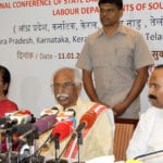 Regional conference of labour ministers of Southern States concludes in Chennai