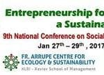 XLRI presents 9th National Conference on Social Entrepreneurship during 27-29 Jan 2017