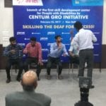 Centum Foundation launches a new initiative Centum GRO to skill deaf youth in India