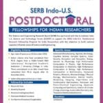 Department of Science and Technology calls for applications for Post Doctoral Research Fellowship under various schemes