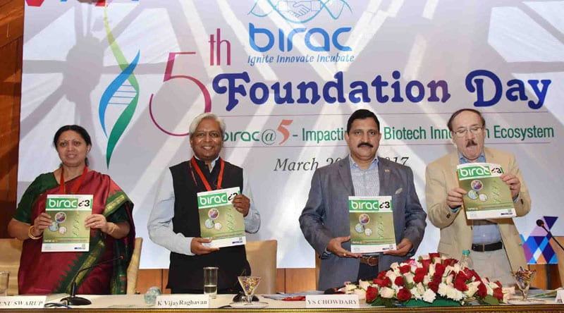 India will be a Global Biotech Hub by 2020: 5th Foundation Day of BIRAC