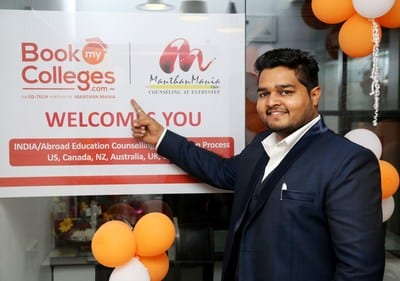 ManthanMania launches BookMyColleges.com, a college application aggregator
