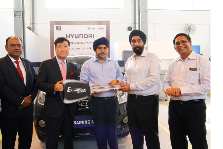 Hyundai Motor India partners with Dr. Sudhir Chandra Sur degree engineering