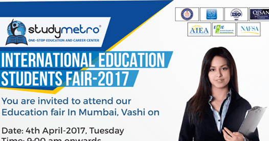 Study Metro, working for providing assistance to Indian students for overseas study, announced today that the organization will hold its first-ever series of International Education Students Fairs during 2017. The premiere events will feature representatives from top universities located around the world.