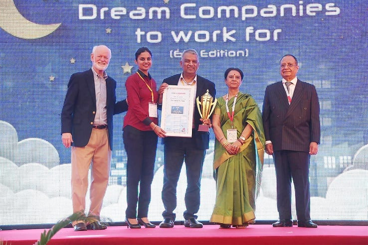 Opteamix honoured as a Dream Company to work for by World HRD Congress
