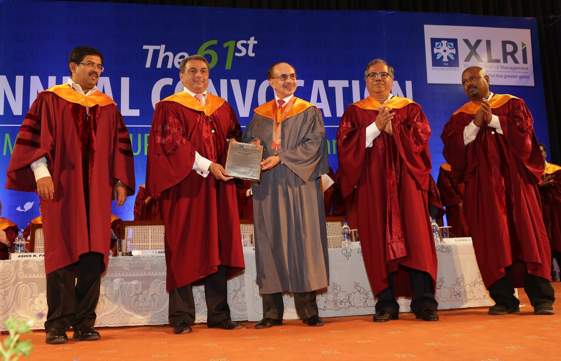 XLRI celebrated 61st Annual Convocation, Adi Godrej honoured