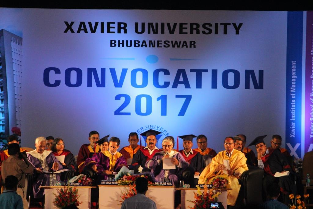 Xavier University, Bhubaneswar hosts third Convocation