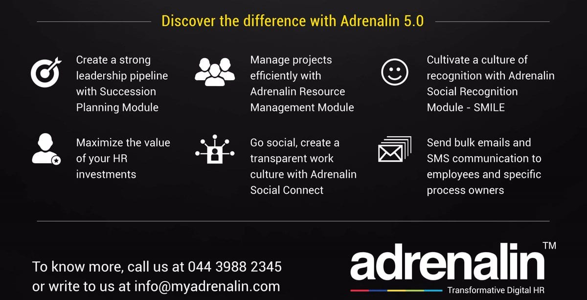 Adrenalin launches MoodXpress an employee engagement platform