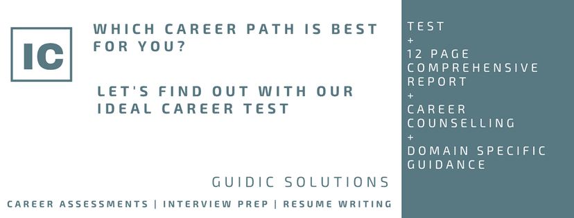 GUIDIC introduces Psychometric Test based career program for Class 10 and 12 students