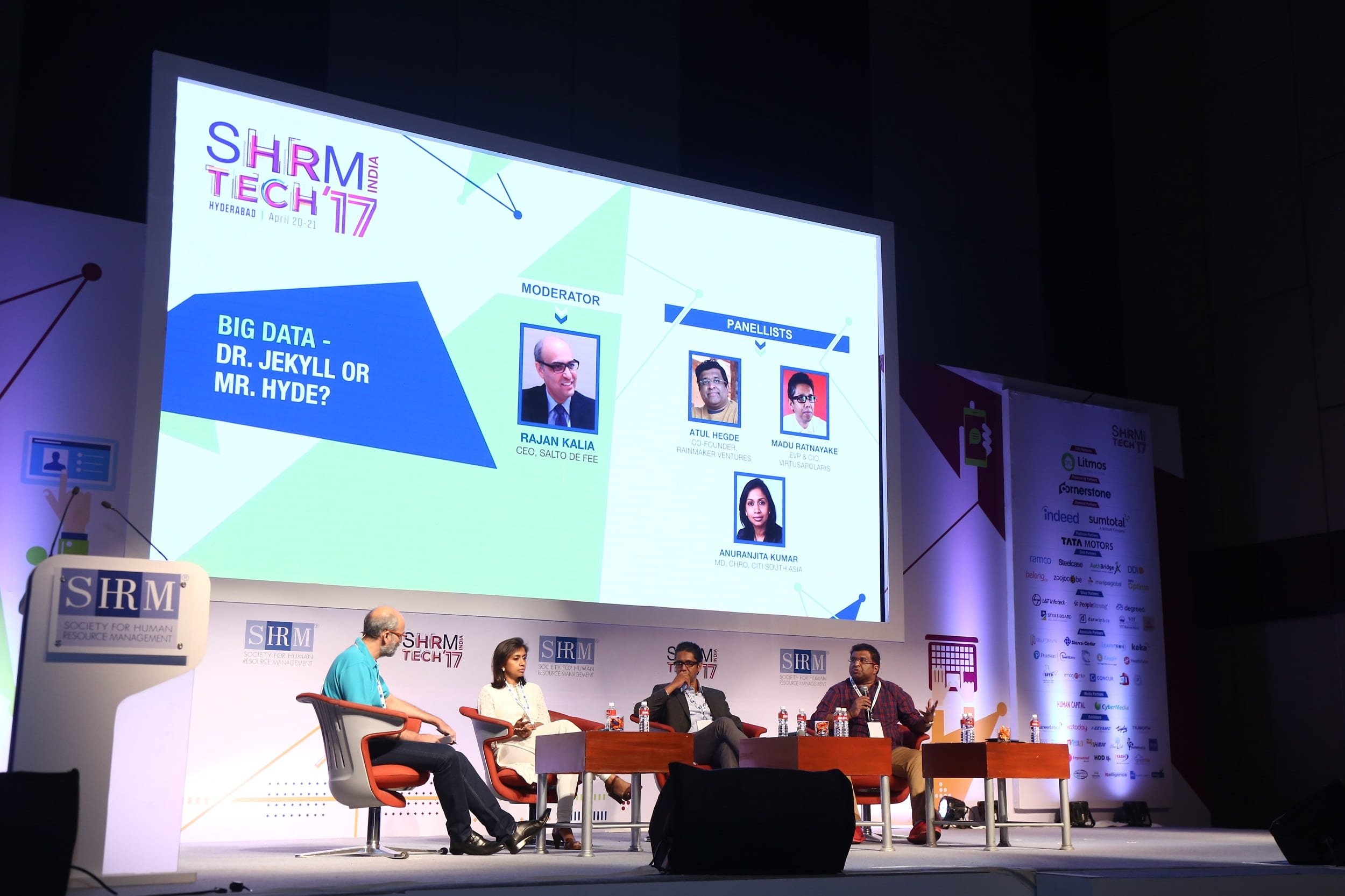 SHRM India presents '3rd HR TechConference 2017' successfully