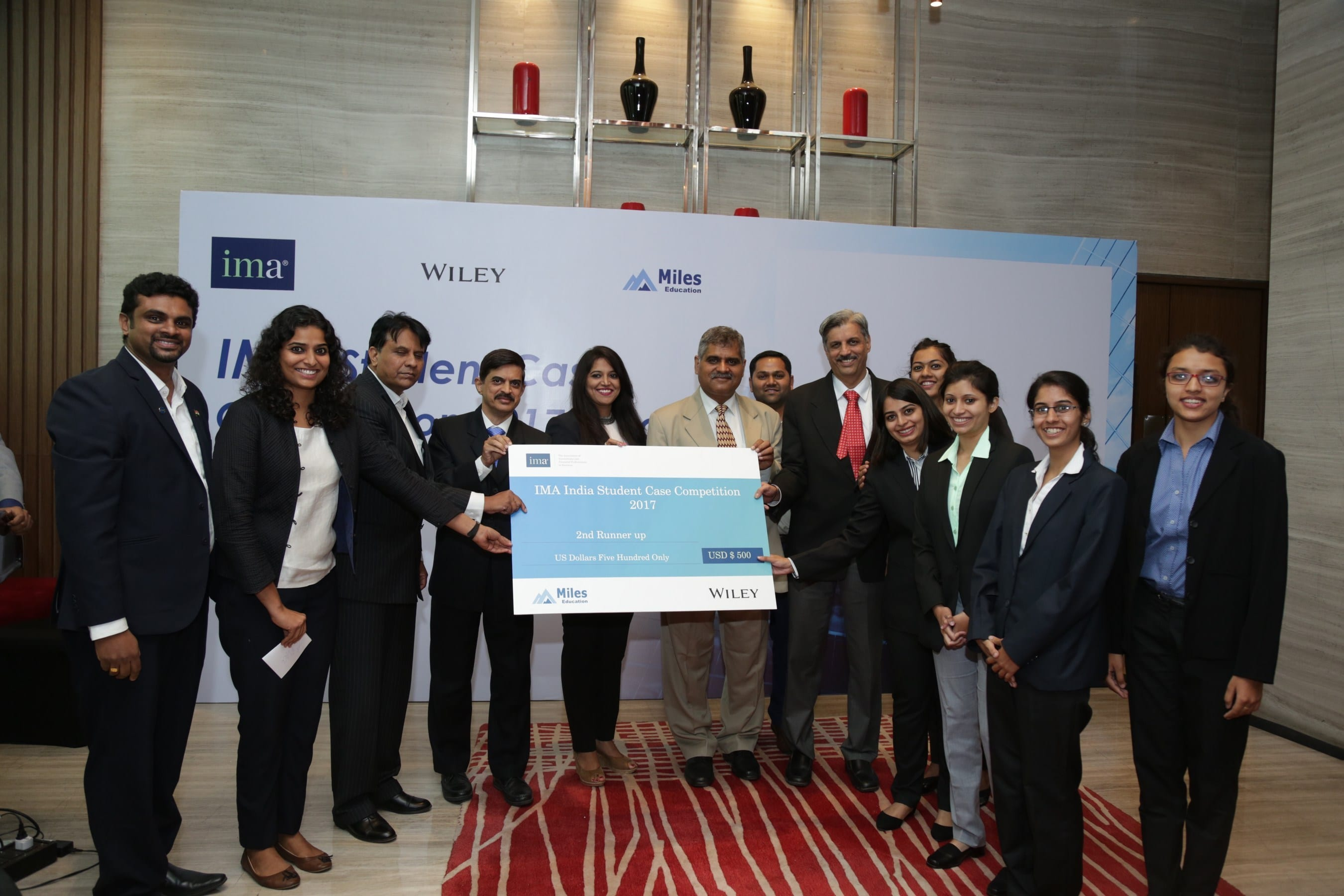 IMA announces student case competition winners in India