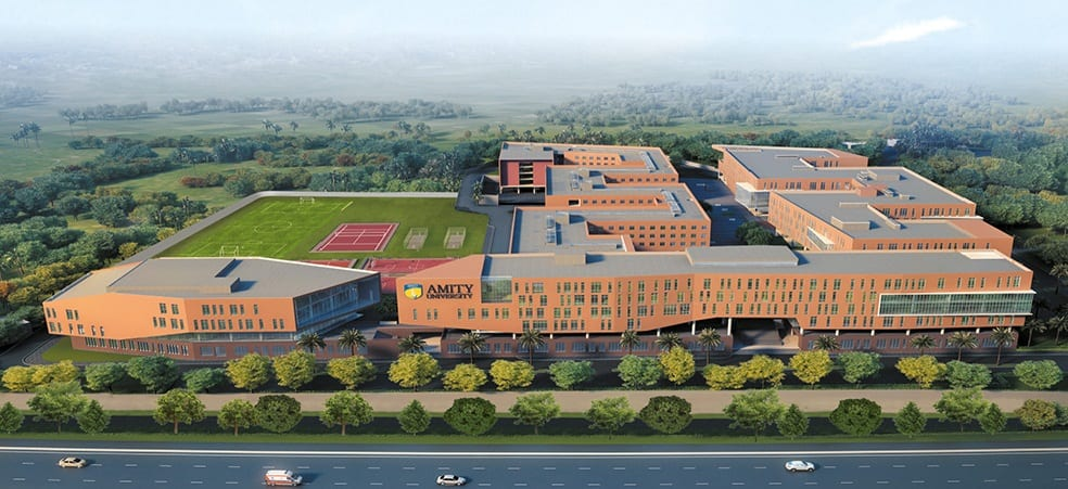 Amity University recruiting teaching positions for its 8 campuses spread over India