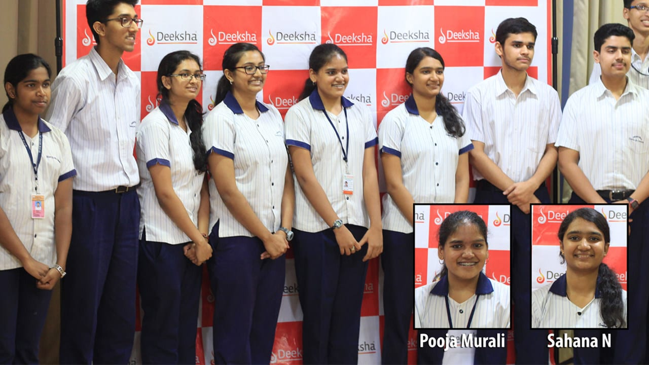 Deeksha students soar hjigh at 2017 Pre-University Examinations