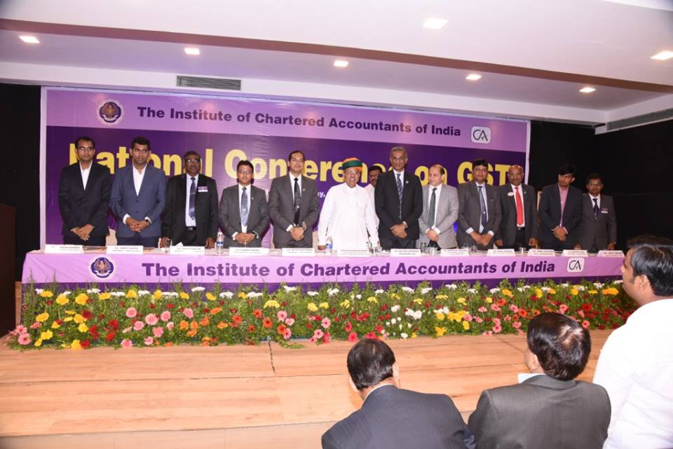 Institute of Chartered Accounts of India (ICAI) launches GST Sahayata Desks
