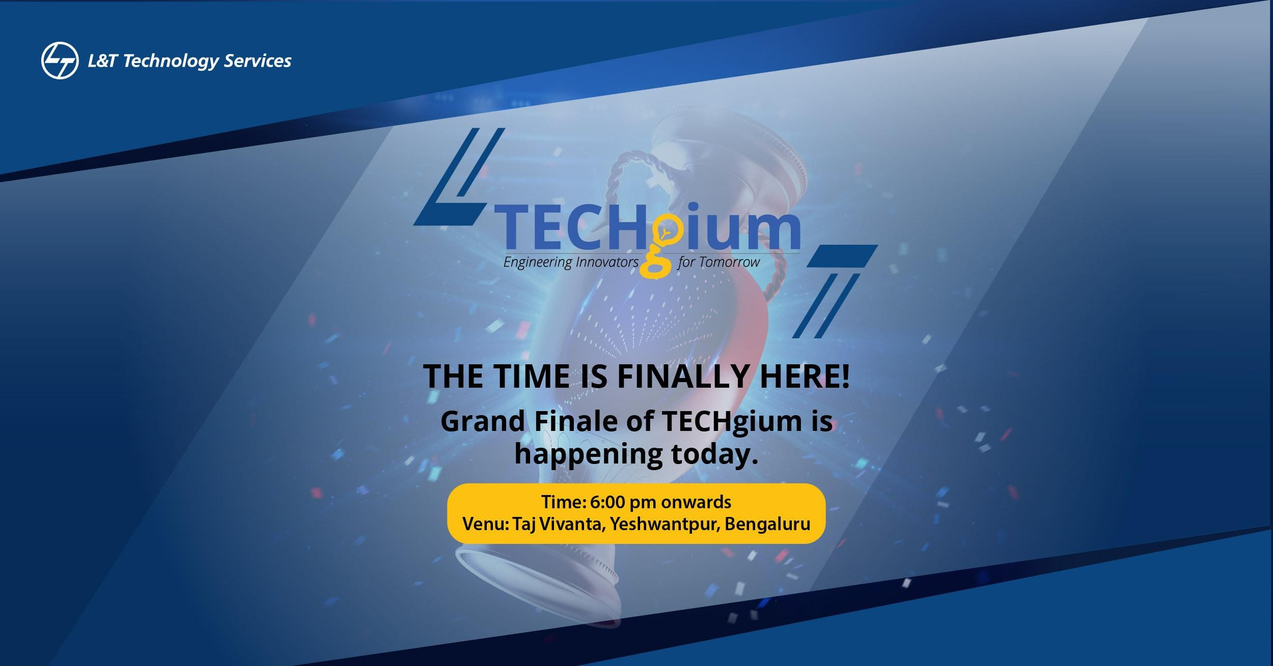 Coimbatore engineering students emerge first winners in L&T Technology Services' TECHgium Open Innovation National Competition