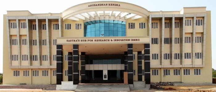 SASTRA University, Thanjavur releases PhD Admission notification ! Apply now