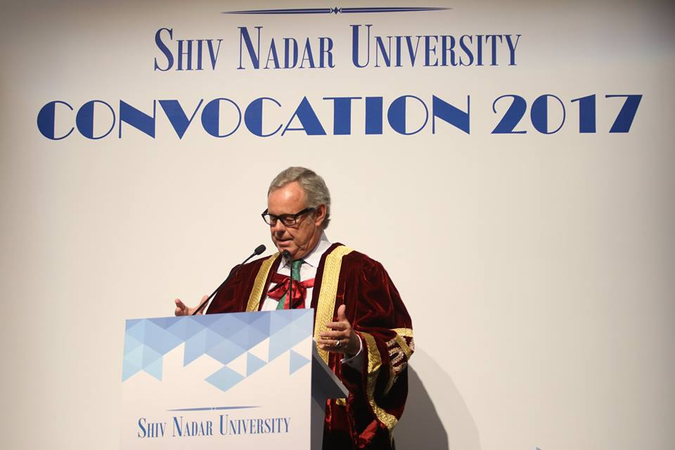 Shiv Nadar University hosts its 3rd annual convocation ceremony