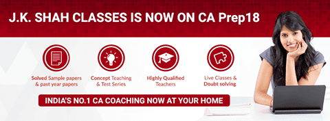 Students can now access JK Shah classes for CA preparation from the comfort of their Homes