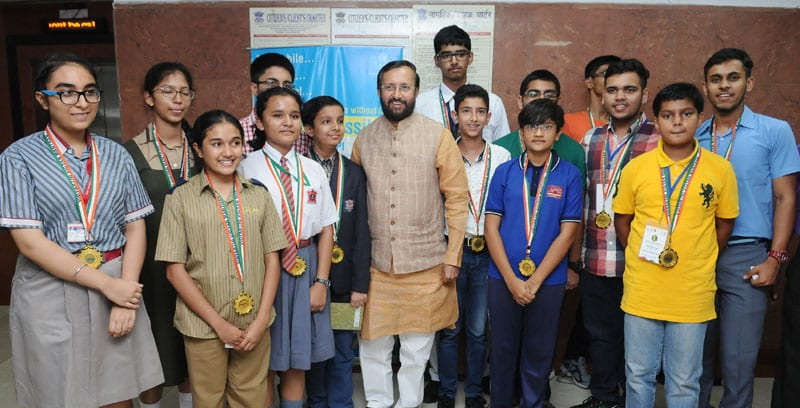 264 students were selected as National level winners under National Science Talents of 2016-17