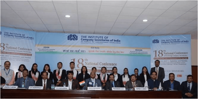 18th National Conference of Practising Company Secretaries inaugurated at Shillong