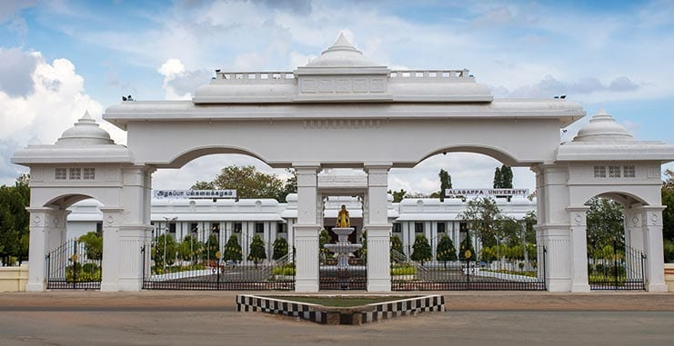 PhD admission open in Alagappa University, Tamil Nadu for 36 disciplines ! Apply now