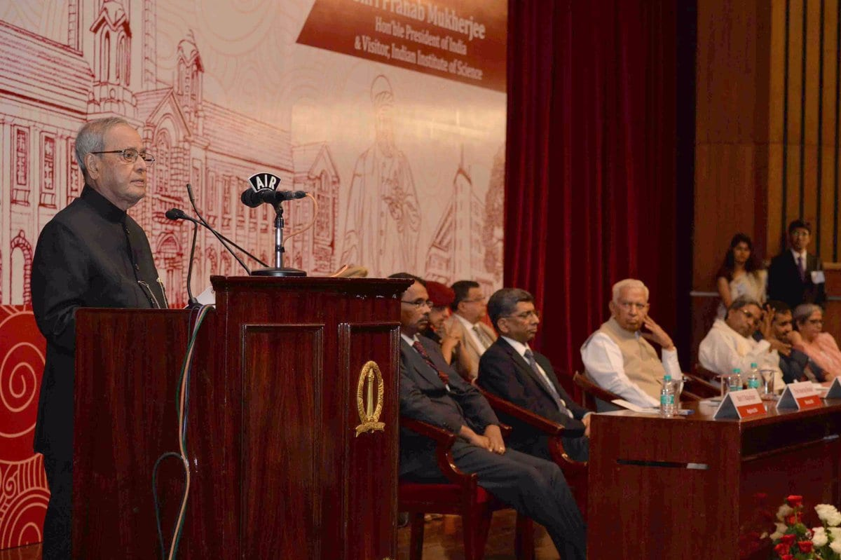 President of India addresses the Annual Convocation of the Indian Institute of Science, Bengaluru