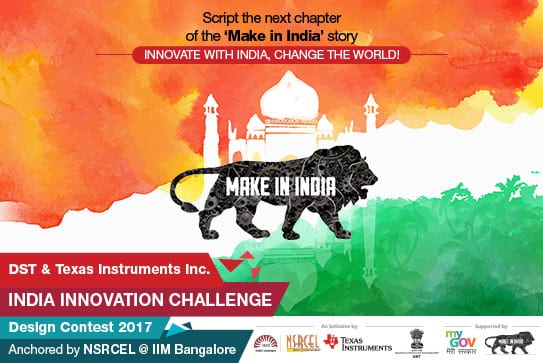 Registration opens for 'India Innovation Challenge 2017' that nurtures engineering innovation among university students
