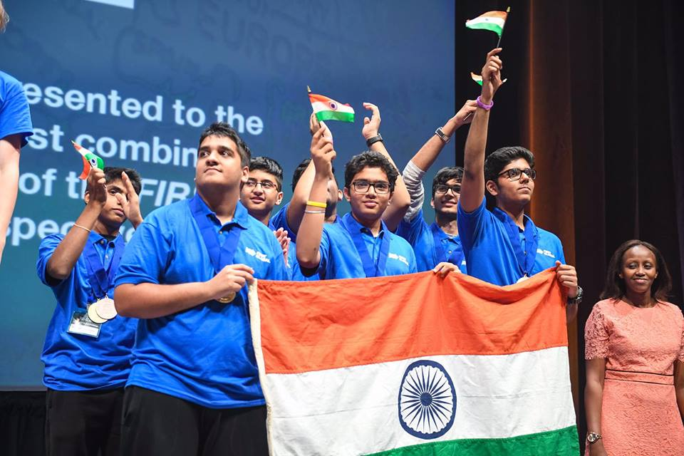 Indian team strikes two medals including a gold in global robotics competition held in US