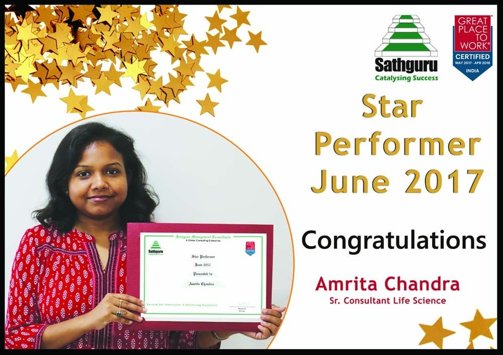 "Sathguru Management Consultants, India wins the Prestigious ""Great Place to Work"" Certification"