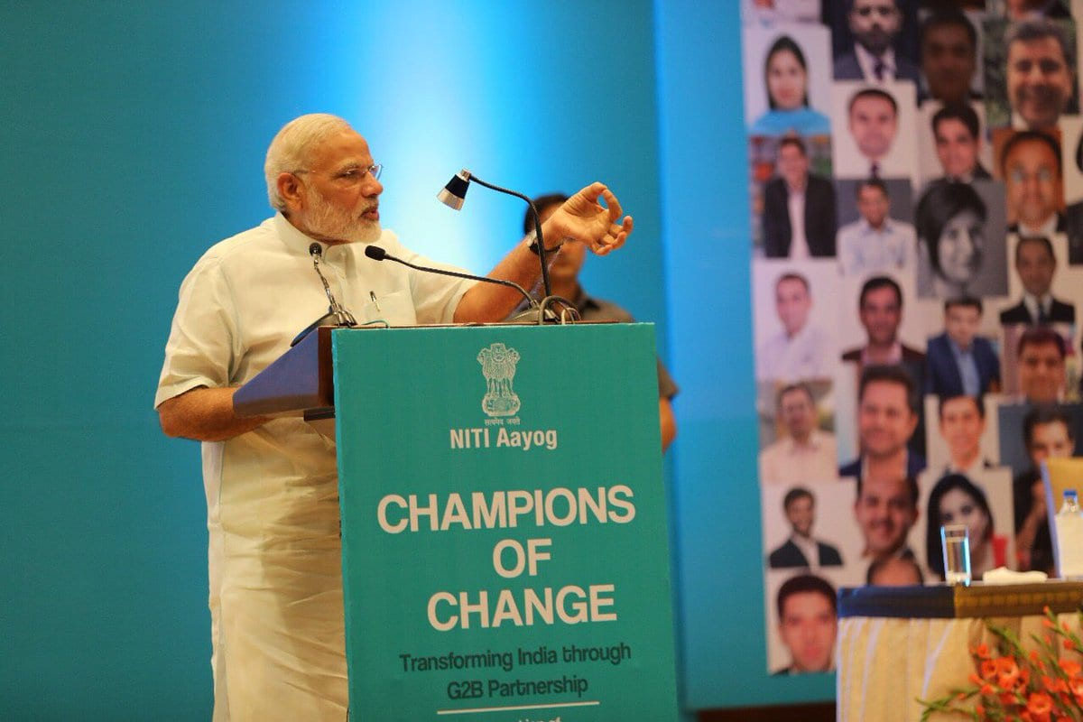 Govt needs to create atmosphere where youngsters can become teachers and educate others: PM