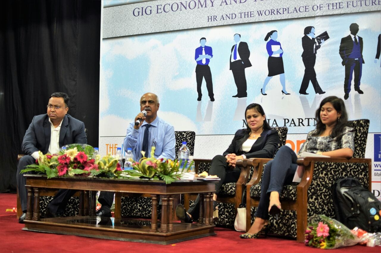 Gig Economy and Contingent Workforce: HR and Workplace of the Future at Kshitij 2017