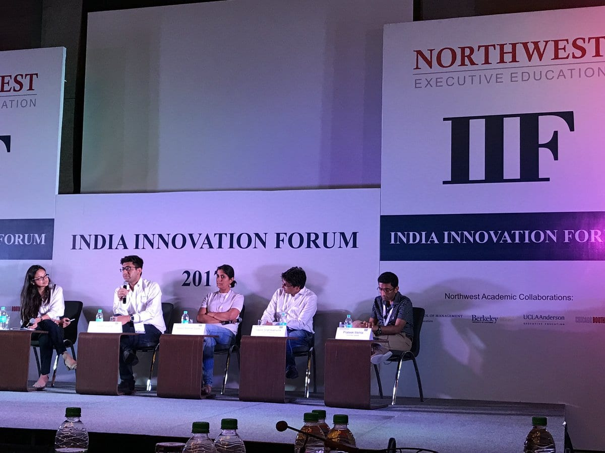 India Innovation Forum 2017 brings together Industry Stalwarts for a Dialogue on 'Build for India'