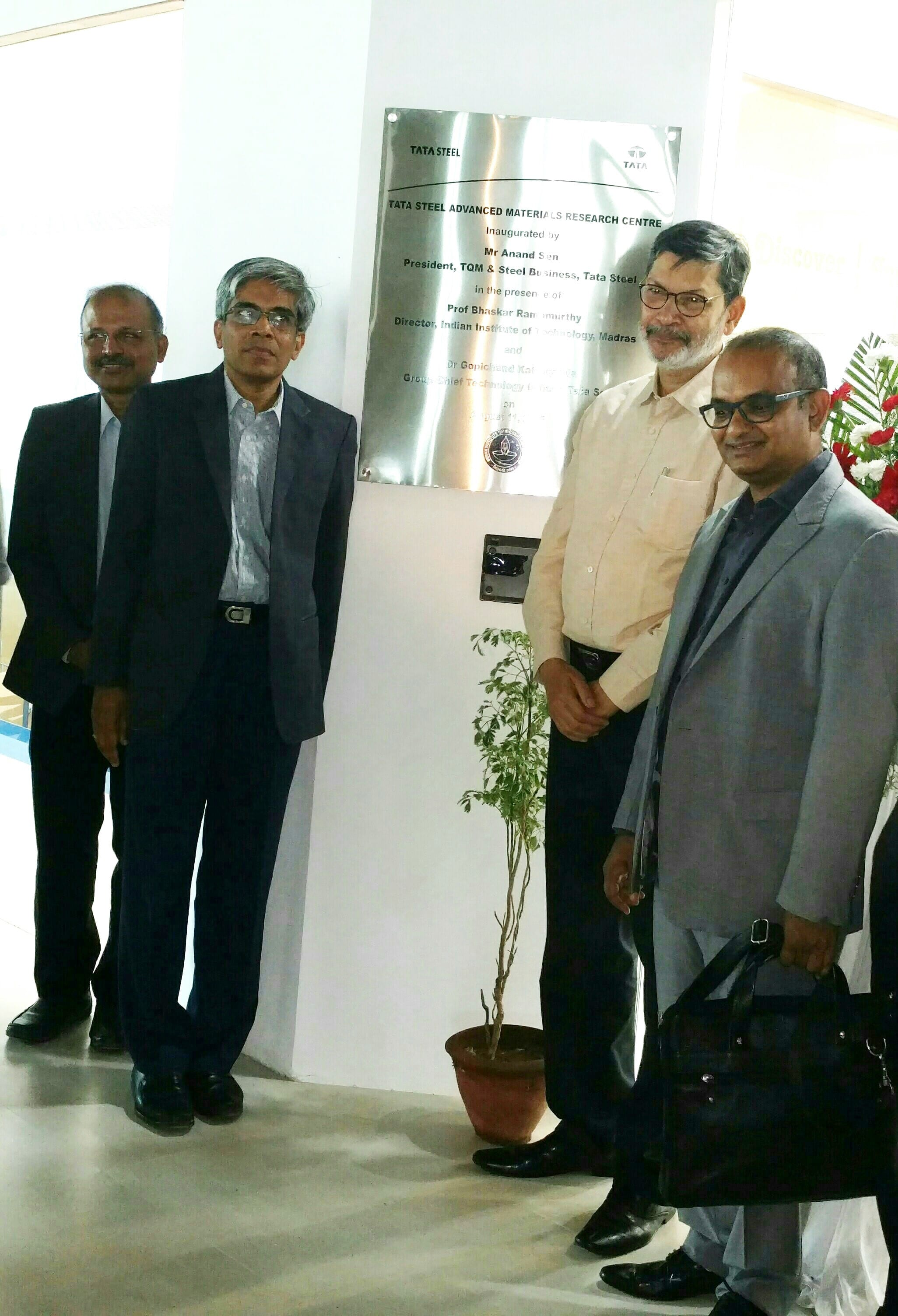 Tata Steel Advanced Materials Research Centre established at IIT Madras