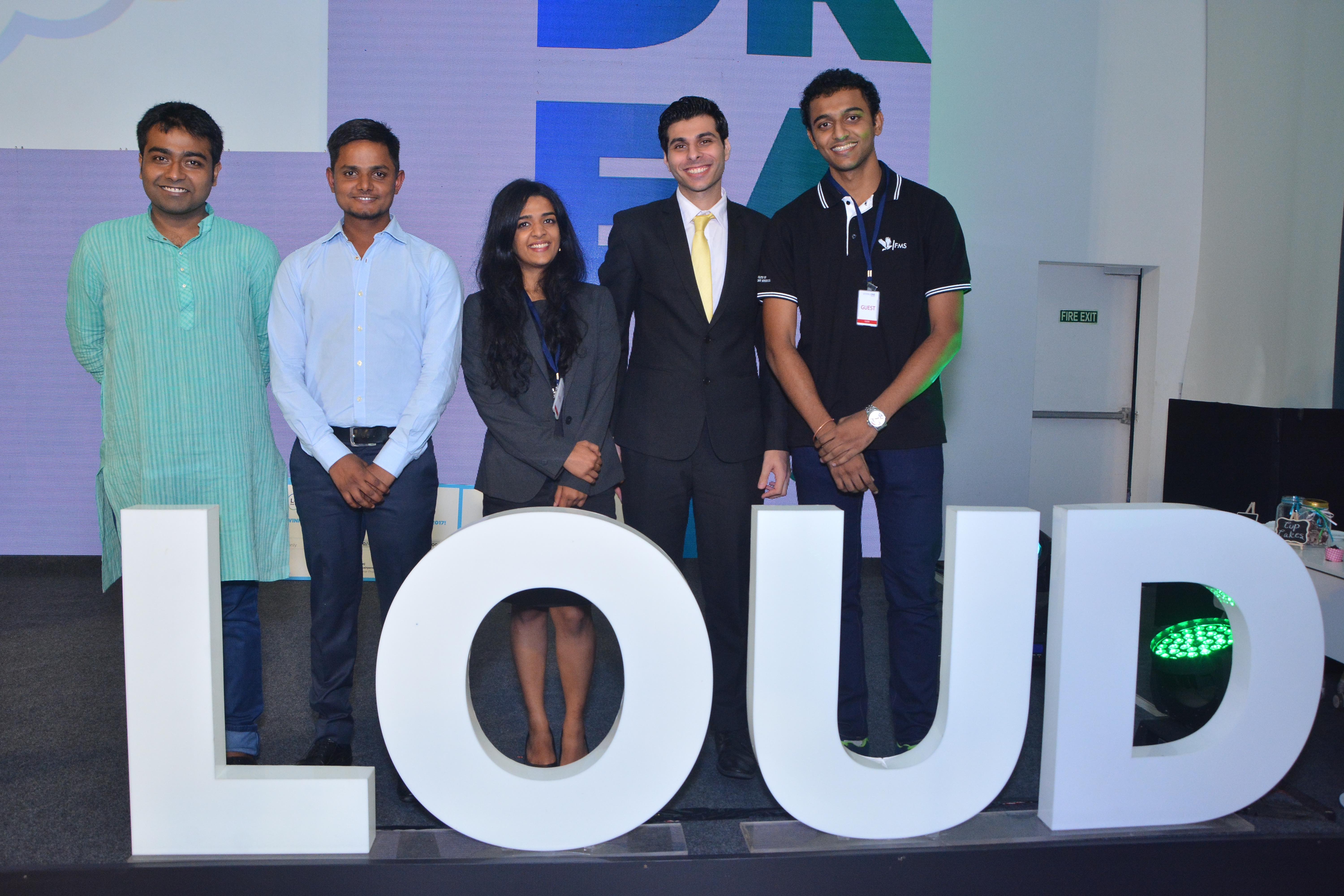 Five students from India's top business schools win Godrej LOUD 2017