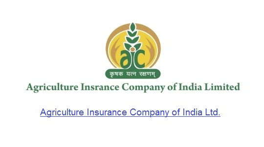 Agriculture Insurance Company of India Limited (AIC) hiring 50 Administrative Officers in Scale I