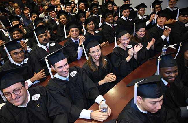 First batch of 44 students from IIM Bangalore & Toulouse Business School's joint Aerospace MBA graduate in France